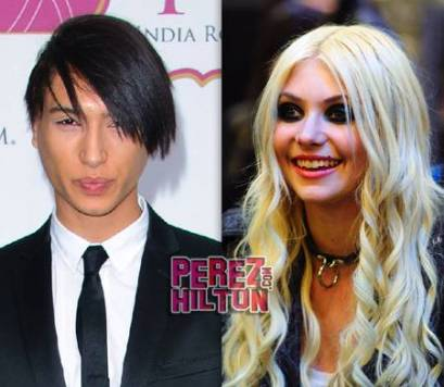 Taylor momsen dating band member